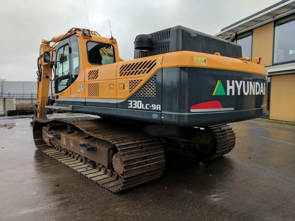 hyundai r330 excavator