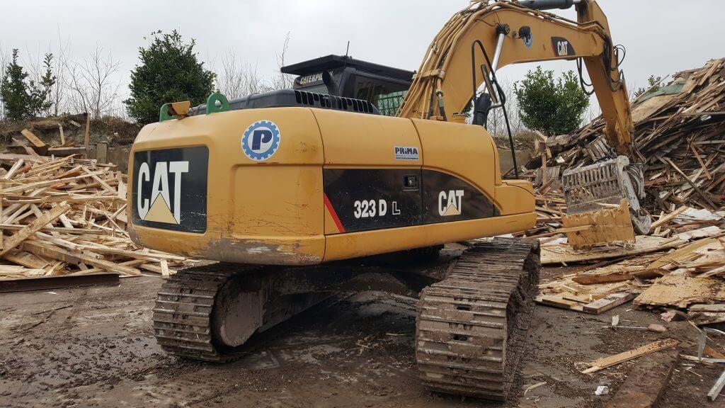 Caterpillar Excavator 323D