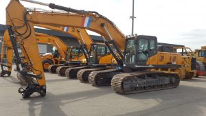 SANY SY355c hydraulic excavator