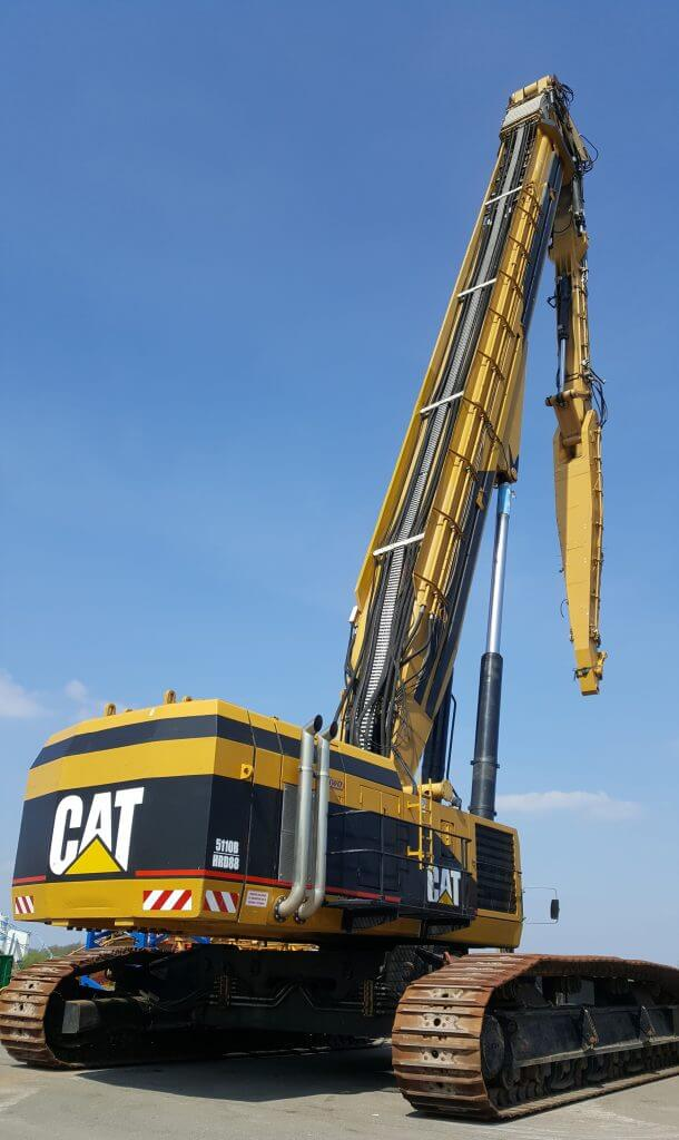 caterpillar 5110B UHRD88 demolition excavator