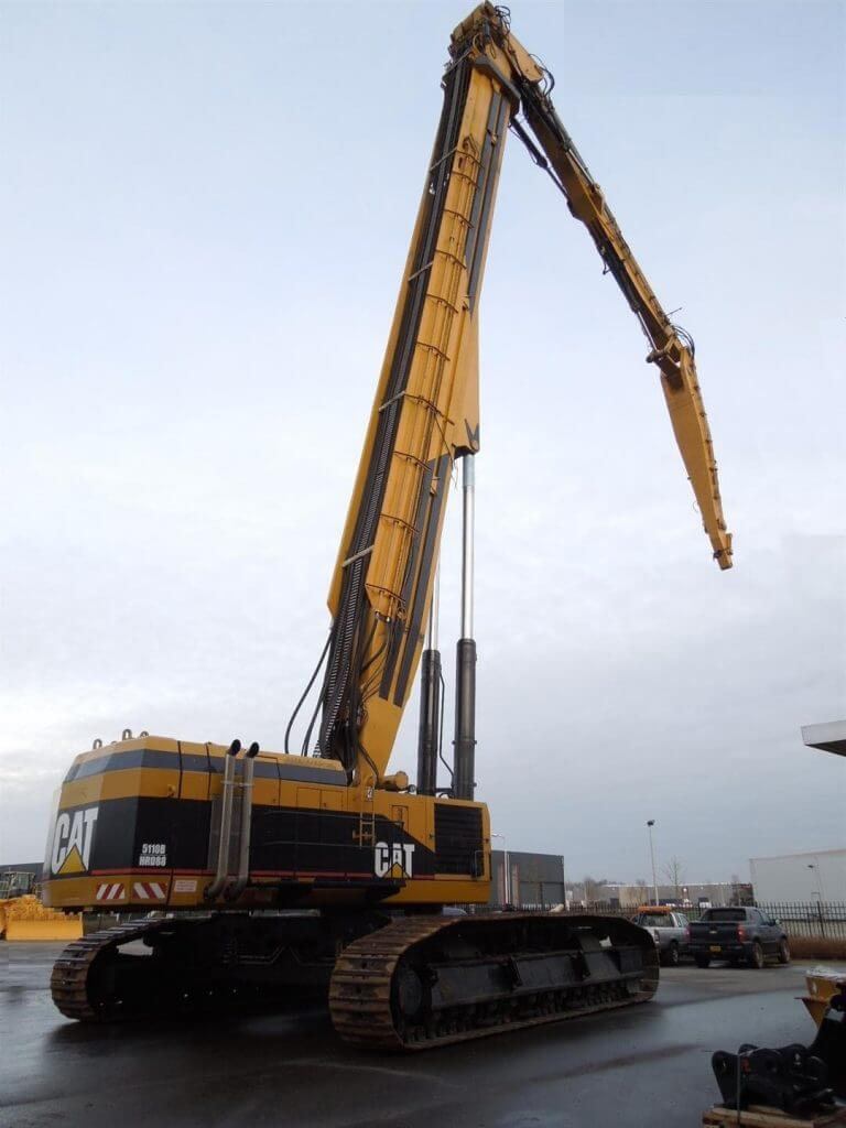 caterpillar demolition excavator uhd 5110