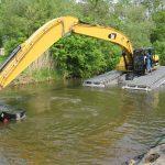 Excavators Amphibious Caterpillar