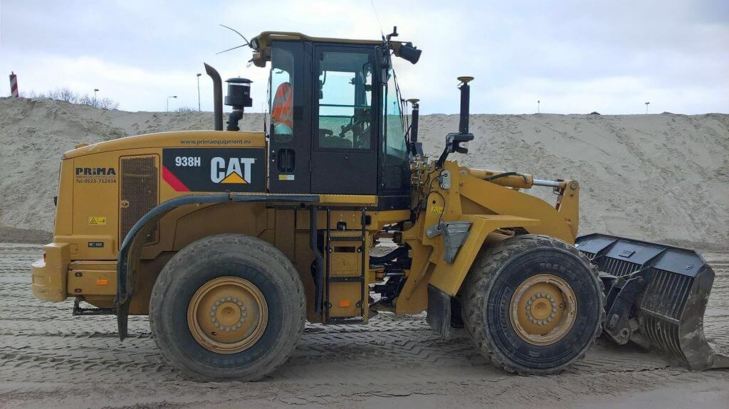 938h caterpillar wheelloader
