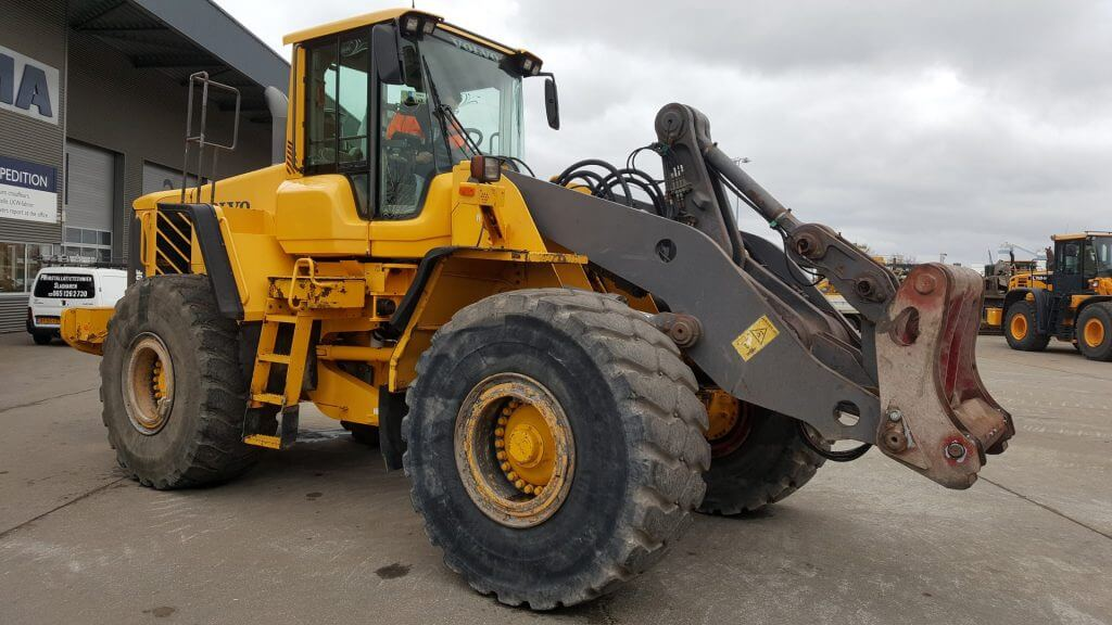 volvo wheel loader 150f