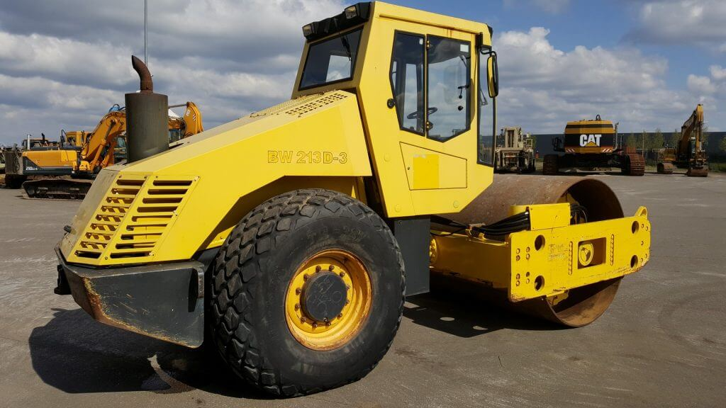 Bomag Single Drum Vibration Roller BW213D-3