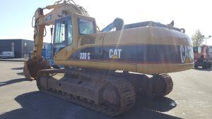 caterpillar 330cl me mass excavator