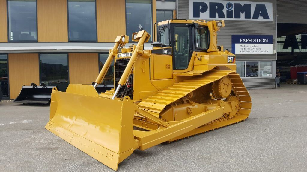 used caterpillar d6t lgp, ready and painted