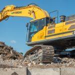 hyundai track excavator used
