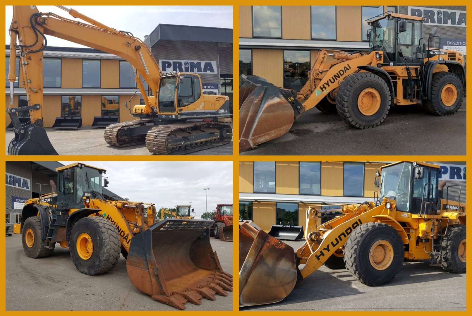 hyundai used equipment