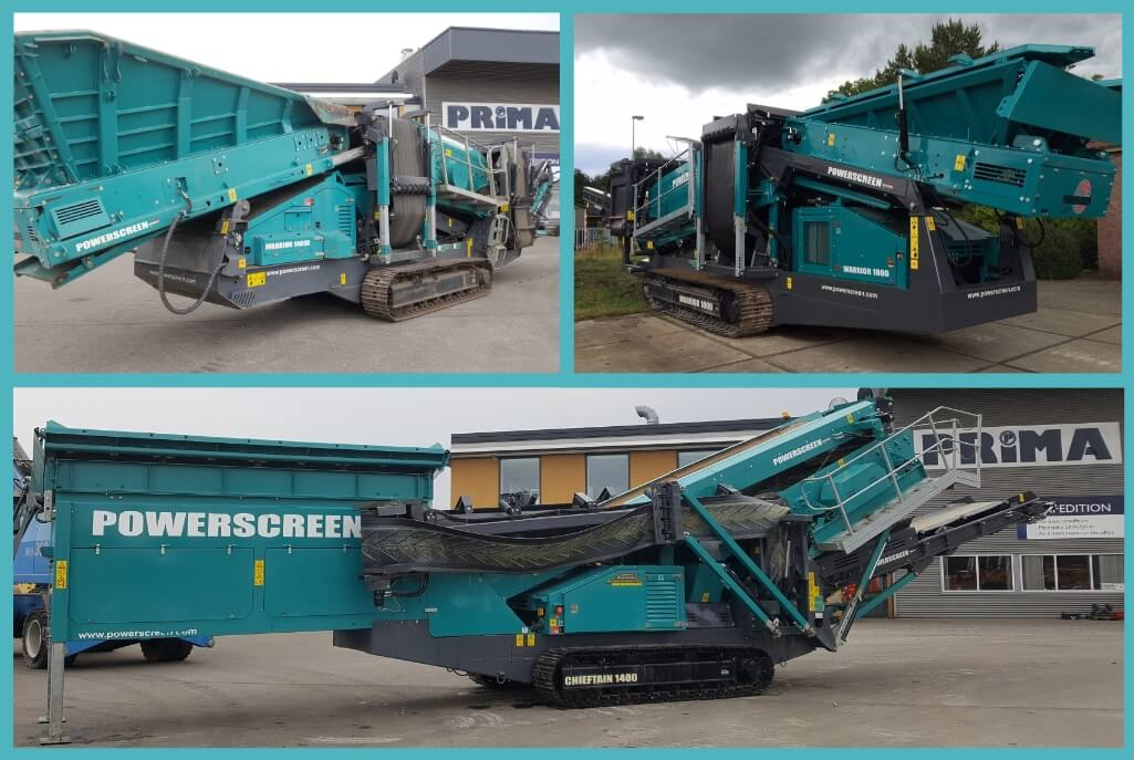 powerscreen used screen