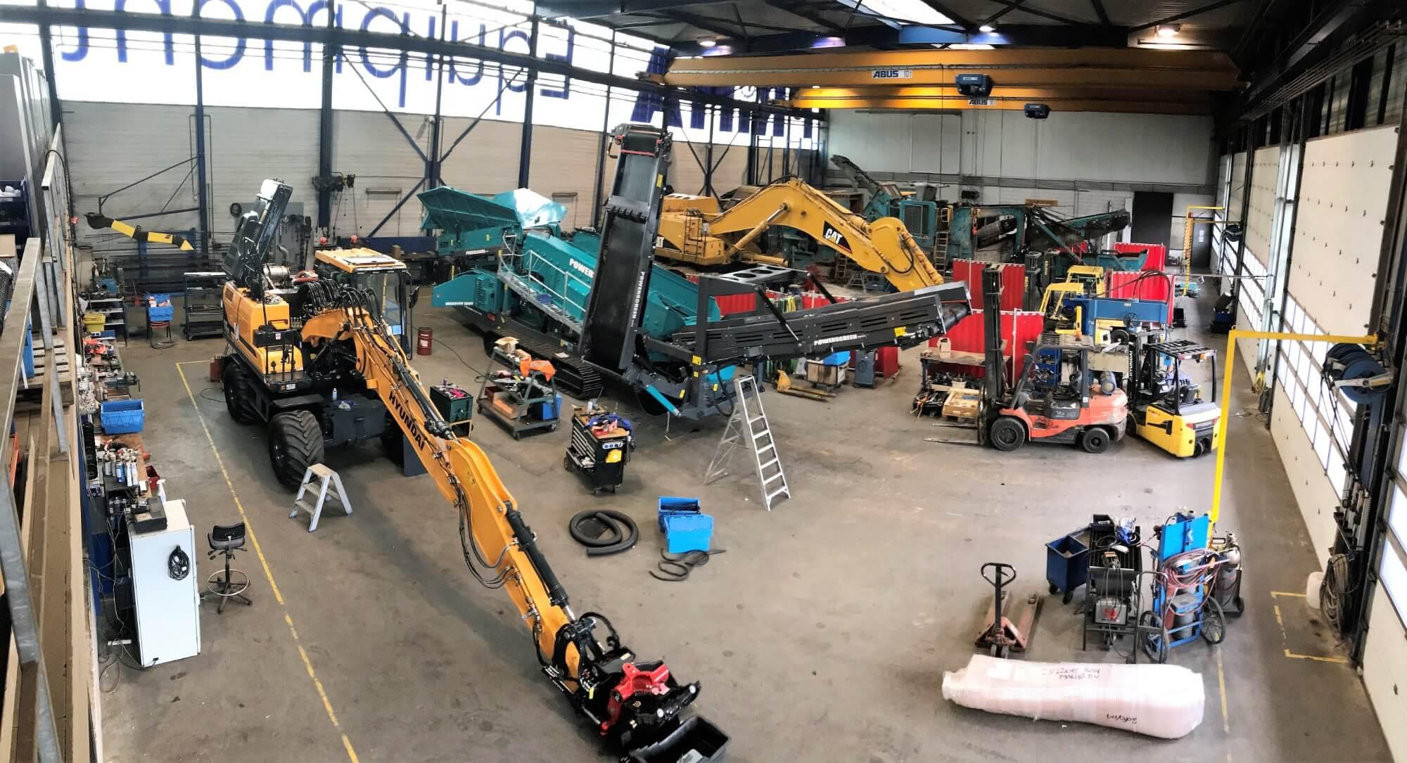 Workshop Amp Services Prima Equipment